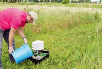 County mosquito trapping begins