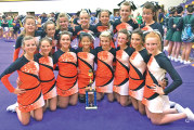 Upper competition cheerleaders place at Holgate