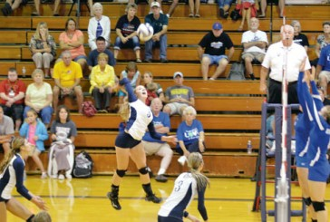 Carey rallies in 1st set, sweeps Riverdale