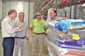 State, federal officials host ag tour