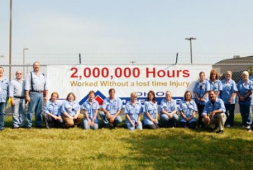 Upper's M-Tek celebrates 2 million hours without lost-time injury