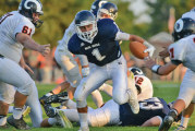 Powers scores 3 times to lead Carey past Upper