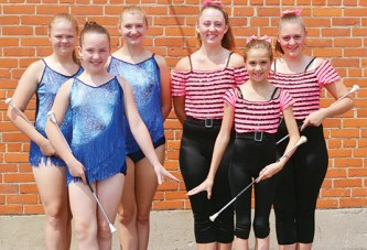 Twirlers receive high marks in national competition