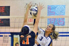 Wentling records 1,500th assist as Blue Devils sweep