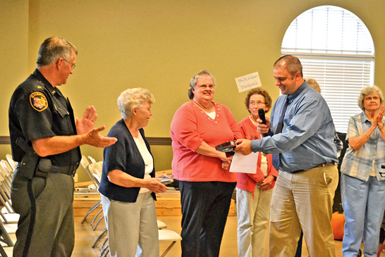 Leeth honored for her many activities