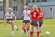 Cougars top Warriors for 2nd time this soccer season