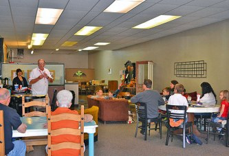 Red Cross volunteers, staff share info about disaster preparedness