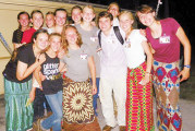 Girl, 14, spends month in Africa