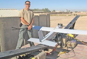 Upper native wins award for work detecting IEDs overseas