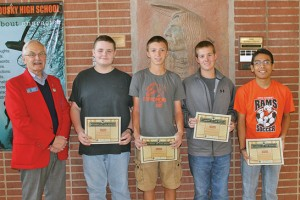 Upper Sandusky High School Students of the month