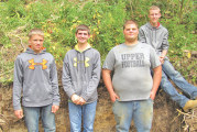 Carey, Upper FFA send soil judging teams to district and state contests