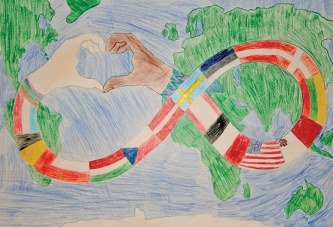 Seventh-grader wins peace poster contest