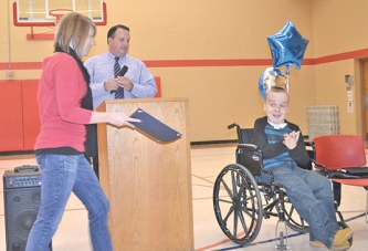 Man receives diplomas in special graduation ceremony at Angeline