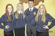 Carey FFA members compete in districts