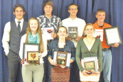 USHS cross country award winners