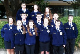 Upper FFA members awarded American degrees at convention