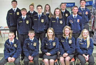 Upper FFA members awarded