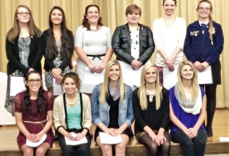 WHS students inducted into NHS