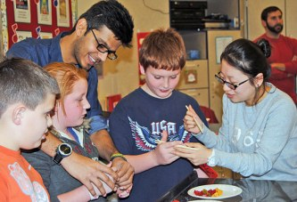 Riverdale students learn about new year traditions