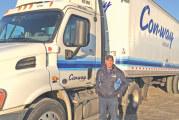 Upper driver recognized for traveling 1 million safe miles