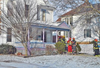 Firefighters respond to home, garage fires Mon.