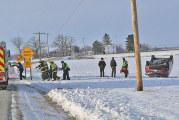 Kenton woman injured in crash