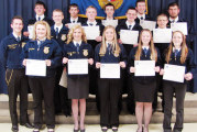 FFA members earn their chapter degrees