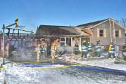 Fire damages Upper Sandusky homes