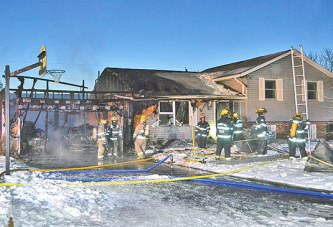 Fire damages Upper Sandusky homes
