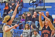 Fogle hits 7 treys, scores 33 points in Rams' win