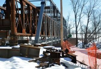 Historic county bridge gets face lift