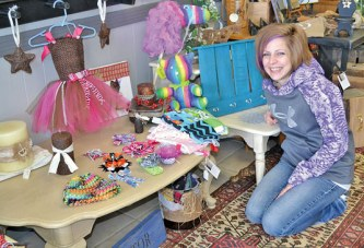 USHS grad gets back to basics with crafts