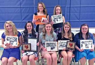 Cheerleading award winners