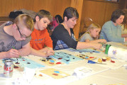 Residents raise funds for REACH with Awakening Minds art session