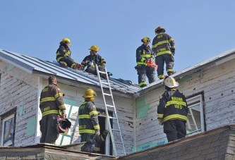 Local firefighters complete man down, search and rescue training