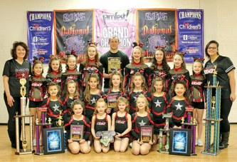Cheer winners