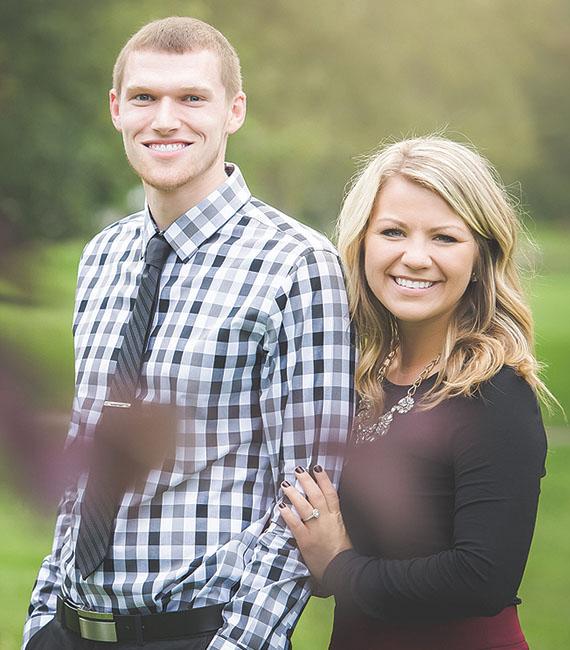 Kahle Rummer and Hannah Reid