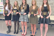 Riverdale girls basketball award winners