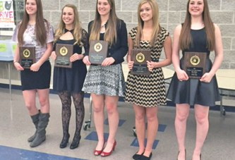Riverdale girls basketball award winners