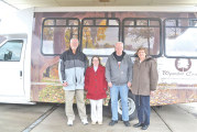 County nursing facility showcases 15-passenger bus during open house