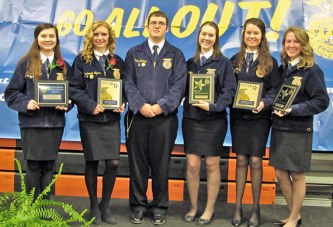 Upper FFA banquet honors members, supporters