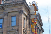 Time-lapse camera now set up for viewing of courthouse restoration