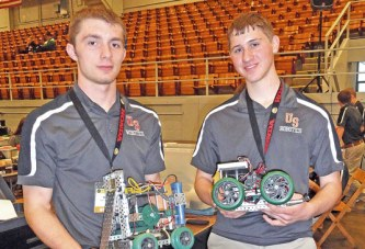 Upper robotics team wins first place at national contest in Marion