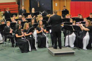 USHS wind ensemble earns highest honors, heads to state contest