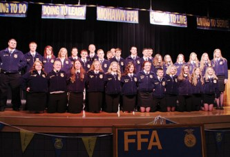 Mohawk FFA hosts 57th banquet