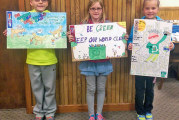 Third, fourth grades learn about recycling, participate in annual SWMD poster contest