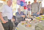Sycamore native recalls historic flight at his 100th birthday party