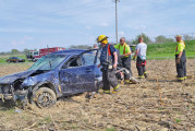Two unidentified juveniles hurt in rollover accident near Carey