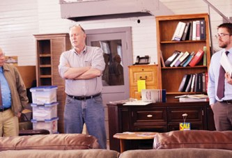 County officials tour new Loose Family Furniture store