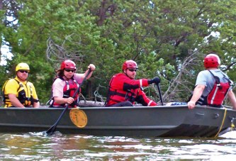 Safety is top priority for fun boating